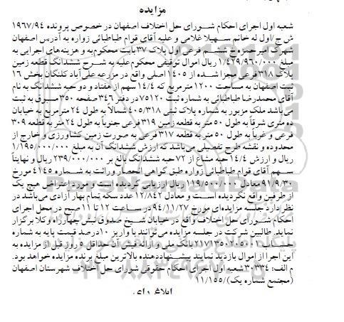 قیمت زمین علی اباد کلنگان اصفهان